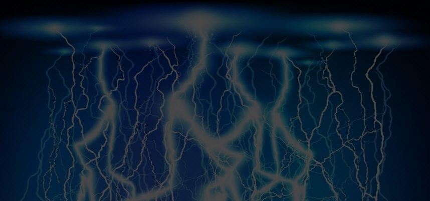 stomschlag blitz-effekt