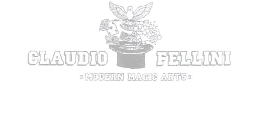 modern magic arts claudio fellini