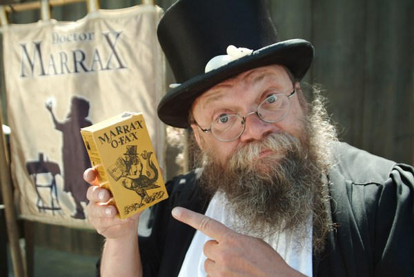 Doctor Marrax und Marrax-o-Fax